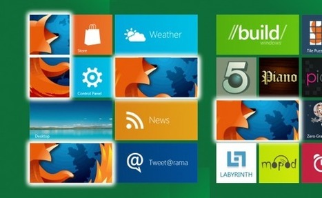 Firefox 26, avec le support des tuiles de Windows 8   Sky-future.net   Scoop.it
