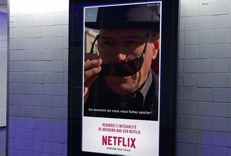 Netflix lance la toute première campagne d'affichage en GIF | Divers | Scoop.it