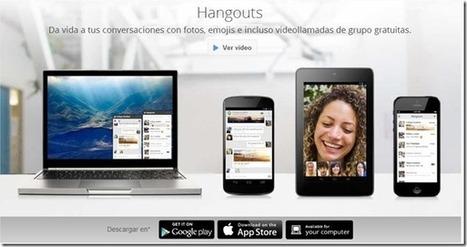 Instala ya el nuevo Google Hangouts, el sustituto de Google Talk | Las TIC y la Educación | Scoop.it