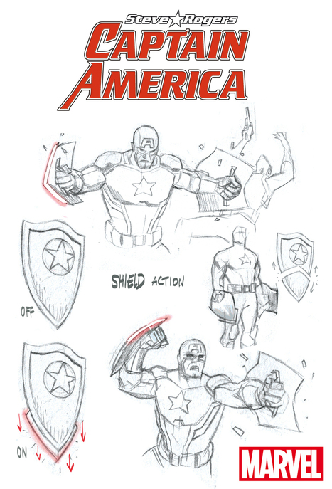 Looking at CAPTAIN AMERICA: STEVE ROGERS' New Costume & Shield | Comic Books Artists | Scoop.it