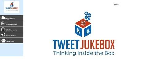 Tweet Jukebox Schedule your tweets more then easily NOW ! | Promote4you | Scoop.it