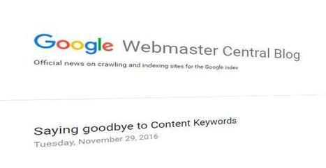 Google se despide de las palabras clave en los contenidos | Ingeniería Biomédica | Scoop.it