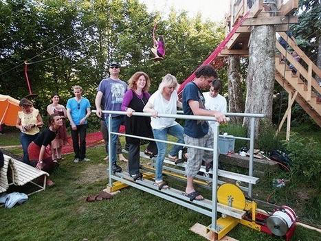 Cinq concerts alimentés à l'énergie humaine | DECLICS | Les énergies renouvelables en Suisse | Scoop.it