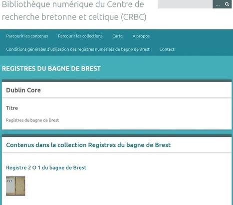 Registres du bagne de Brest en ligne (CRBC)   Charentonneau   Scoop.it