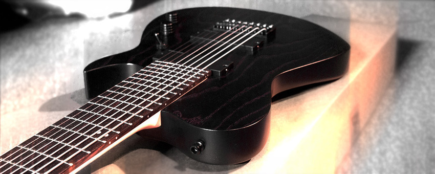 Diret  Black Acoustic Guitar Pickup and Preamp Built-in Tuner and EQR
