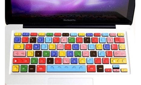 Macbook Keyboard Decal Lego Style | All Geeks | Scoop.it