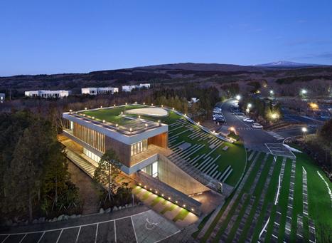 D.LIM Architects Digs Subterranean Forum for CJ Nine Bridges in Korea | sustainable architecture | Scoop.it