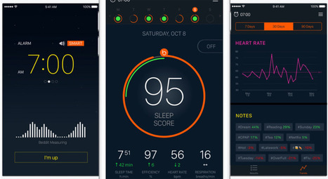 Beddit 3 knows if you've been sleeping. It knows if you're awake. | Digital Health | Scoop.it