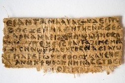 Jesus's Wife Manuscript Genuine - disinformation | Aux origines | Scoop.it