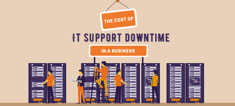 The Cost of IT Support Downtime in A Business [Infographic] - Merlin | Anything I Can Share | Scoop.it