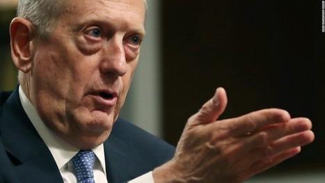 Mattis readies possible ISIS options for Trump Pentagon visit   Shahriyar Gourgi   Scoop.it