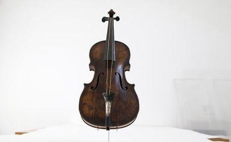 Le violon du Titanic adjugé pour 1,063 million d'euros | argent | Scoop.it