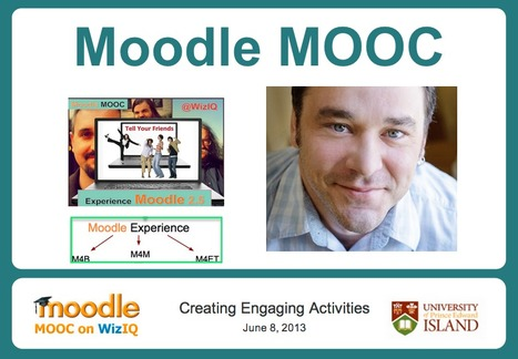 Moodle MOOC on WizIQ Tasks | elderly,technology and learning | Scoop.it