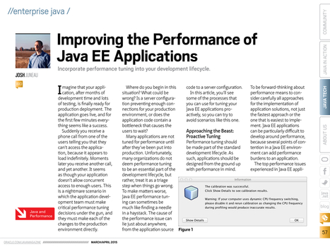 Improving the Performance of Java EE Applications | Desarrollo WEB | Scoop.it