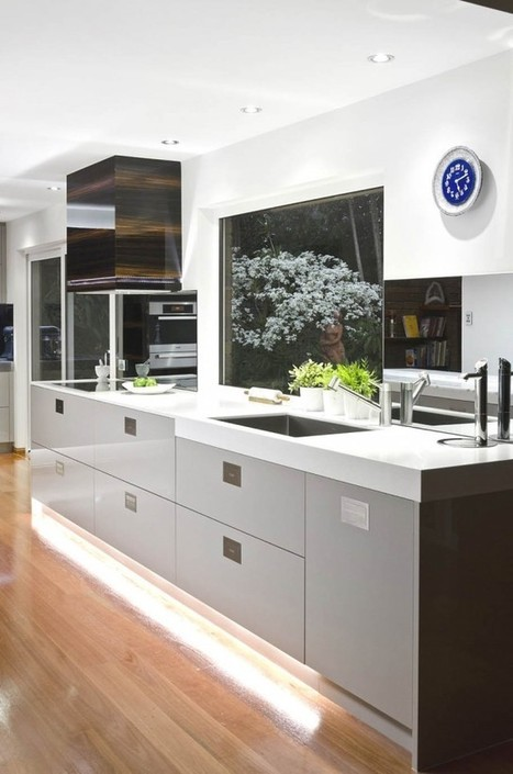 Modern Kitchen Interior Design by Darren James | 2012 Interior Design, Living Room Ideas, Home Design | Scoop.it