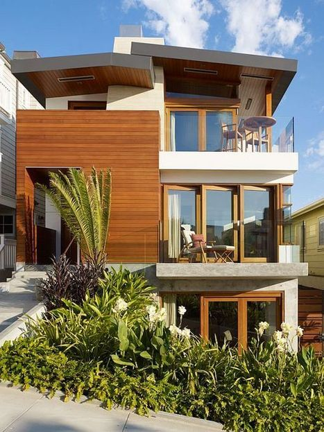 Beach House in California Draws Inspiration From South East Asia | Design | News, E-learning, Architecture of the future at news.arcilook.com | Architecture e-learning | Scoop.it