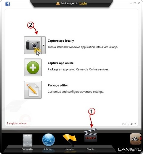 Transformez n'importe quel logiciel en version portable avec Cameyo | TICE, Web 2.0, logiciels libres | Scoop.it