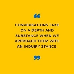 4 steps to deeper conversation - Working At The Edge | Leadership to change our schools' cultures for the 21st Century | Scoop.it