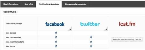 Deezer étend ses fonctionnalités de partage à Twitter | Toulouse networks | Scoop.it
