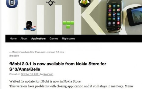 fMobi updated to v2.0.1 at Nokia store with memory fix and menu status update : My Nokia Blog | Nokia, Symbian and WP 8 | Scoop.it