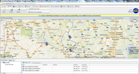 Click2Map - Online Map Creator | Resources for DNLE for 21st Century | Scoop.it