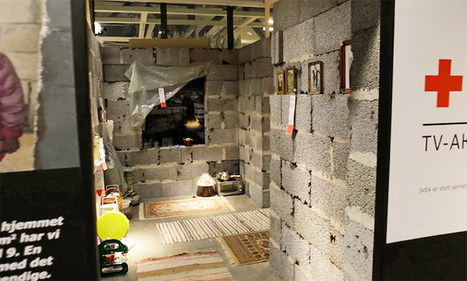 #IKEA Recreates a #Syrian #Home in Showroom as Powerful Reminder of the #Humanitarian #Crisis. #interior #design #art | Luby Art | Scoop.it