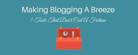 7 Online Marketing Tools That Make Blogging A Breeze | SM | Scoop.it