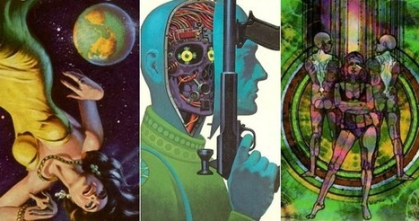 Space Cartoons to Space Psychedelia: How Sci-Fi Book Covers Evolved | innovation and diversity | Scoop.it