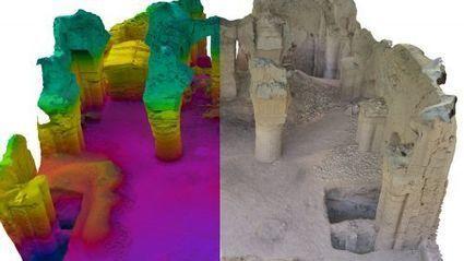 Chronique du futur : drones et réalité virtuelle stimulent l'archéologie | Innovations Technologiques | Scoop.it