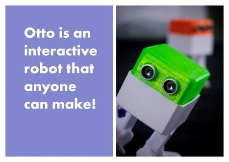Otto - build you own robot in two hours! | Makers, DIY et révolution numérique | Scoop.it