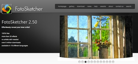 FotoSketcher | Turn photos into art for free | More about Photography | Scoop.it