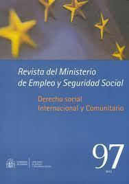 Revista del Ministerio de Empleo y Seguridad Social | Revistas sociología y criminología | Scoop.it