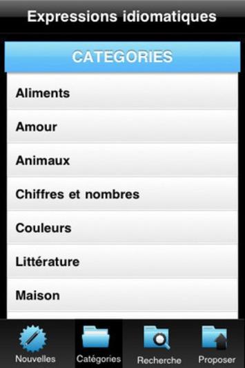 Expressions idiomatiques Gratuit 1.3 - TakeItBeHappy | TIC et TICE mais... en français | Scoop.it