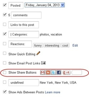 How To Remove Default Share Buttons From Blogger Blog - Blogs Daddy | Blogger Tricks, Blog Templates, Widgets | Scoop.it