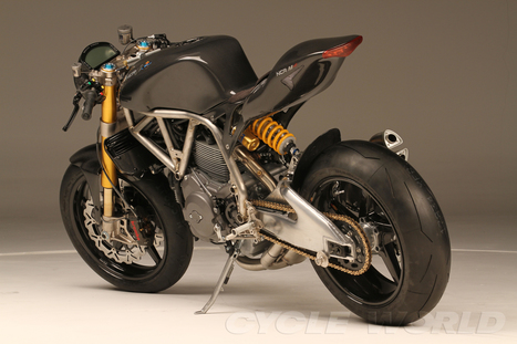 Cycle World – NCR M4 and M4 One Shot- Ducati Powered NCR Motorcycles- First Look Photos | Ductalk Ducati News | Scoop.it