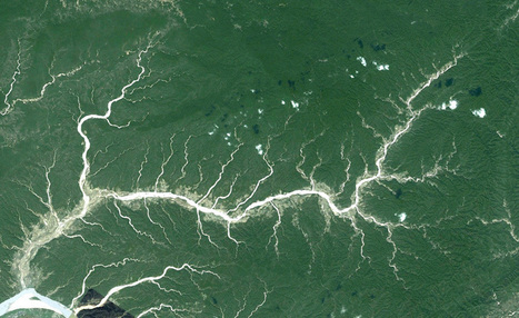 Google Earth Fractals | omnia mea mecum fero | Scoop.it
