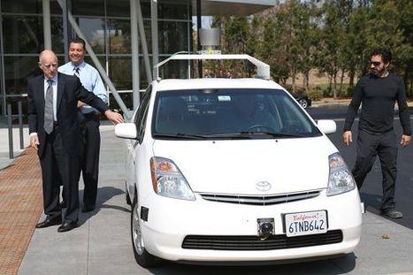 La voiture sans conducteur de Google roule en Californie | Des robots et des drones | Scoop.it