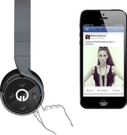 Muzik : 1er casque audio social | Musique sociale | Scoop.it
