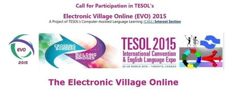 """ESL/EFL Teachers Can Get Great Free Online Prof. Dev. With """"The Electronic Village Online"""" 
