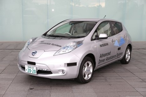 Nissan's Robot Car Passes Its License Test | Autopia | Wired.com | leapmind | Scoop.it