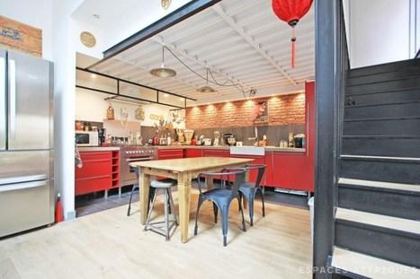 Une maison loft aux portes de Paris | PLANETE DECO a homes world | Céka décore | Scoop.it