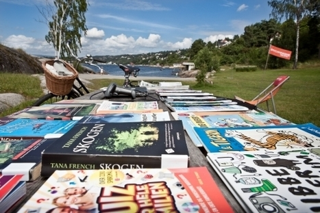 Et bibliotek på stranden | Skolebibliotek | Scoop.it