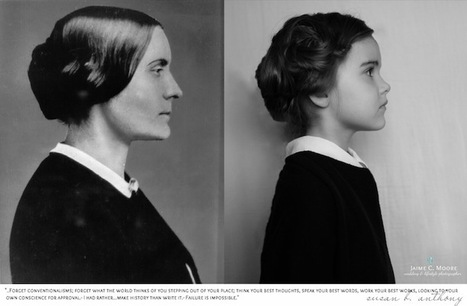 Little Girl Poses as Influential Women Throughout History - My Modern Metropolis   Le It e Amo ✪   Scoop.it