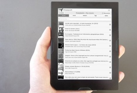 Framabookin, une nouvelle bibliothèque numérique gratuite | -thécaires | Espace adultes | Scoop.it