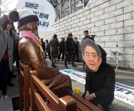 Abe tells Biden important for Japan, South Korea to carry out 'comfort women' agreement@offshore stockbroker | Global Asia Trader | Scoop.it