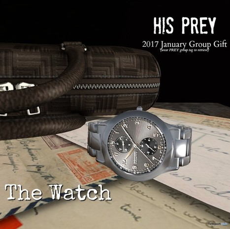 The Watch January 2017 Group Gift by PREY | Teleport Hub - Second Life Freebies | Second Life Freebies | Scoop.it