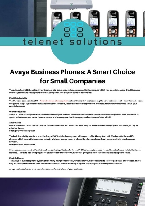 Best Phone System Upgrades For Your Business In Telenet Solutions Scoop It