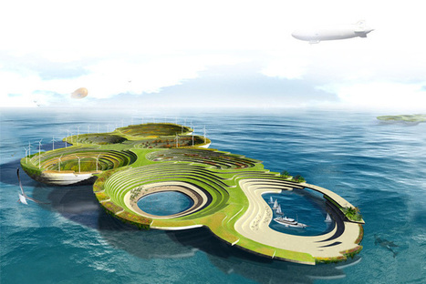 Sustainable FLOATING Cities Designed for a Post-Apocalyptic World | BIM | Scoop.it