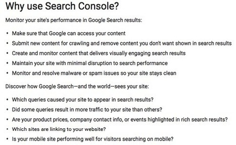 A Step-by-Step Guide to Using Google Search Console Like a Boss | Business and Marketing | Scoop.it