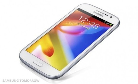 Samsung Galaxy Grand unveiled.. a mid-range handset   Sniffer   Scoop.it
